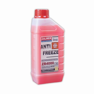 ZALMER Antifreeze LLC ZR 4000 G12+ (красный)   1 кг
