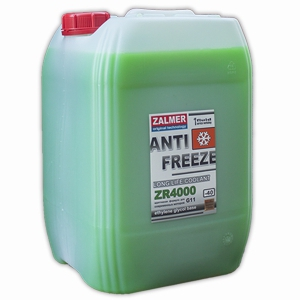 ZALMER Antifreeze LLC ZR 4000 G11 (зеленый)  20 кг
