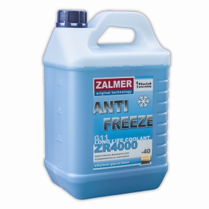 ZALMER Antifreeze LLC ZR 4000 G11 (синий)  5 кг