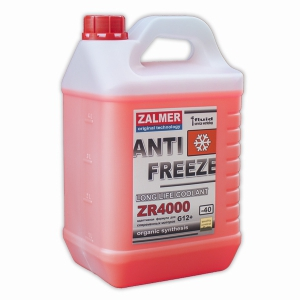 ZALMER Antifreeze LLC ZR 4000 G12+ (красный)   5 кг