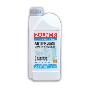 ZALMER Antifreeze LLC ZR3500 G11 (синий)  1 кг