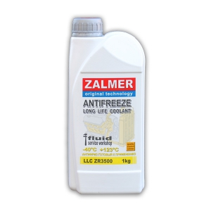 ZALMER Antifreeze LLC ZR3500 (желтый)  1 кг