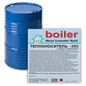 """Теплоноситель """"boiler"""" heat transfer fluid - 35C (красн) 215 кг"""