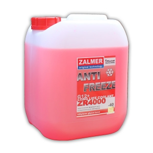 ZALMER Antifreeze LLC ZR 4000 G12+ (красный)  10 к