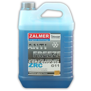 ZALMER Antifreeze LLC CONCENTRATE G11 (синий)  5 кг