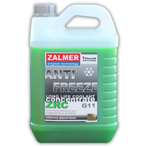 ZALMER Antifreeze LLC CONCENTRATE G11 (зеленый)  5 кг