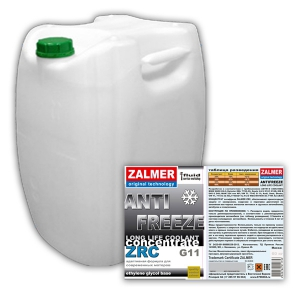 ZALMER Antifreeze LLC CONCENTRATE G11 (синий)  60 кг
