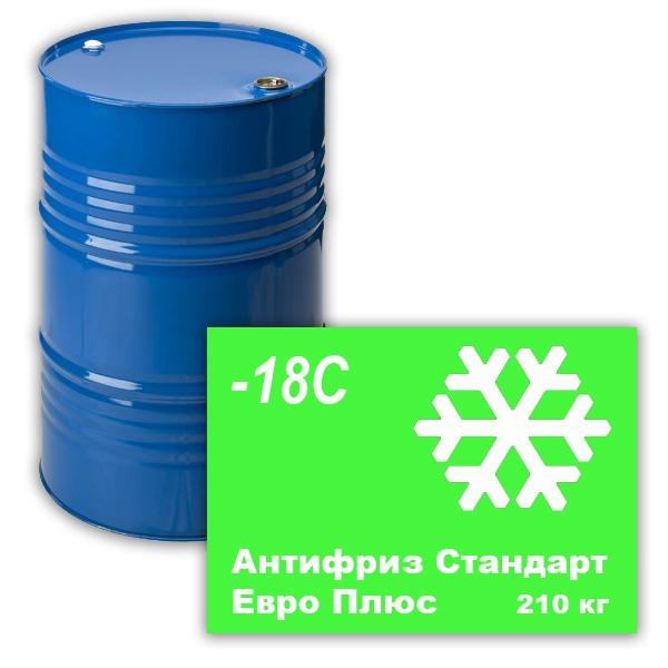Антифриз Стандарт Евро Плюс (-18С) (зеленый) 210 кг