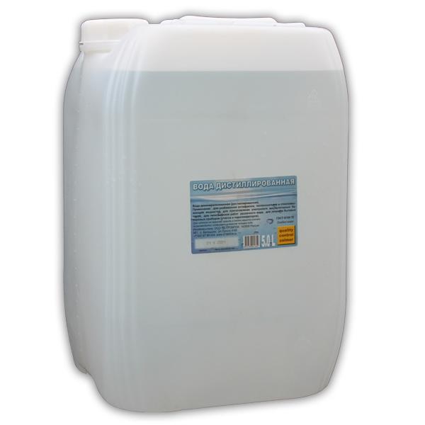 """Вода дистиллированная """"ZR - AQUA"""" 20 кг"""