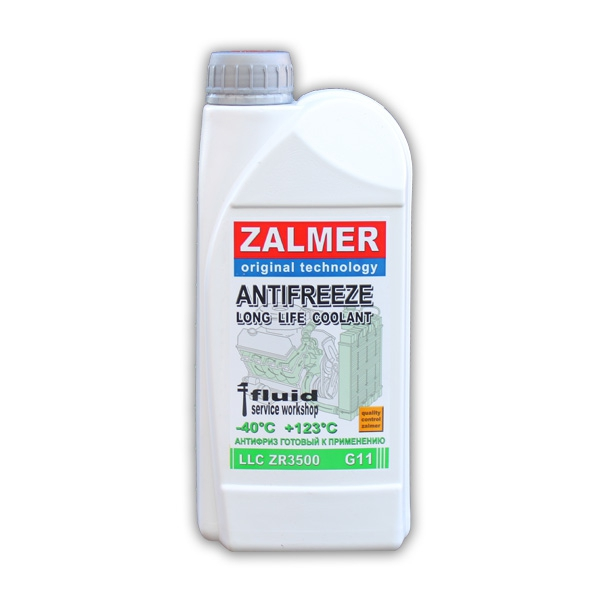 ZALMER Antifreeze LLC ZR3500 G11 (зеленый)  1 кг