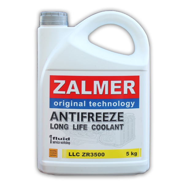 ZALMER Antifreeze LLC ZR3500 (желтый)  5 кг