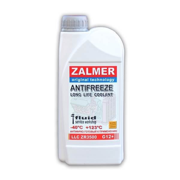 ZALMER Antifreeze LLC ZR3500 G12+ (красный)  1 кг