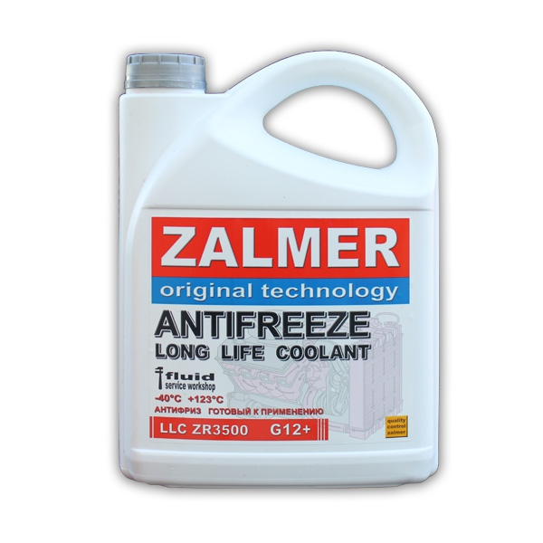 ZALMER Antifreeze LLC ZR3500 G12+ (красный)  3 кг