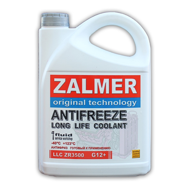 ZALMER Antifreeze LLC ZR3500 G12+ (красный)  5 кг