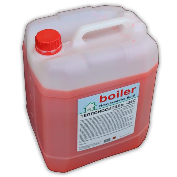 """Теплоноситель """"boiler"""" heat transfer fluid - 35C (красн) 20 кг"""