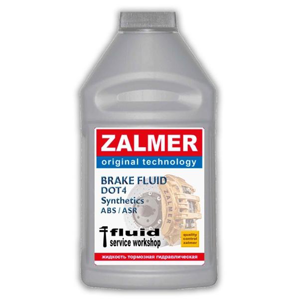 Тормозная жидкость  ДОТ-4 (DOT4) ZALMER modified 4000