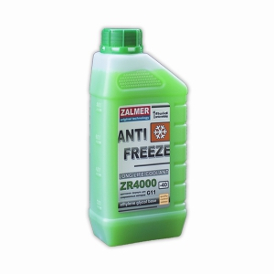 ZALMER Antifreeze LLC ZR 4000 G11 (зеленый)   1 кг