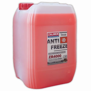 ZALMER Antifreeze LLC ZR 4000 G12+ (красный)  20 кг