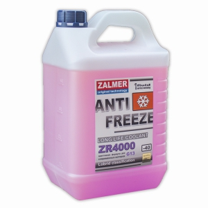 ZALMER Antifreeze LLC ZR 4000 G13 (фиолетовый)  5 кг
