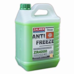 ZALMER Antifreeze LLC ZR 4000 G11 (зеленый)   5 кг