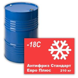 Антифриз Стандарт Евро Плюс (-18С) (красный) 210 кг