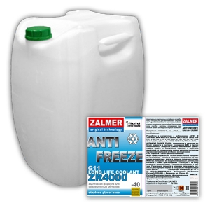 ZALMER Antifreeze LLC ZR 4000 G11 (синий)  50 кг