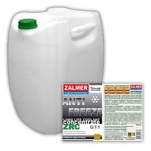ZALMER Antifreeze LLC CONCENTRATE G11 (зеленый)  50 кг