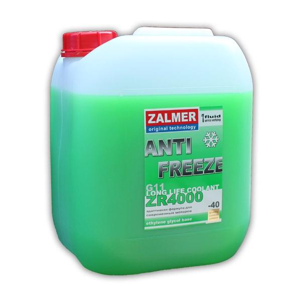 ZALMER Antifreeze LLC ZR 4000 G11 (зеленый)  10 кг