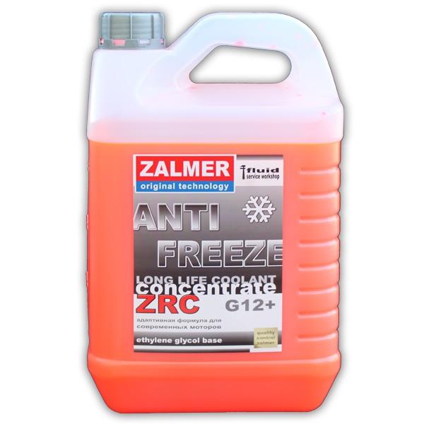 ZALMER Antifreeze LLC CONCENTRATE G12+ (красный)  5 кг